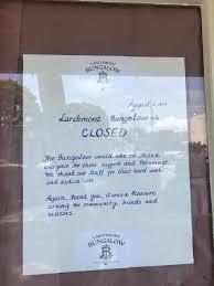 larchmont bungalow u0027s abrupt shutter caps off a decade long