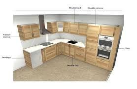 simulation plan cuisine cuisine simulation de galerie et beau plan cuisine 3d gratuit