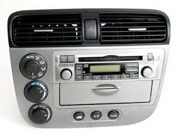 04 05 honda civic hybrid radio am fm cd w face u0026 heat ac ctrls