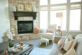 open plan kitchen family room ideas open floor plan decor this neutral family room is open to the