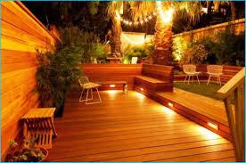 Patio Deck Lighting Ideas by Outdoor Deck Lighting Ideas Sacharoff Decoration