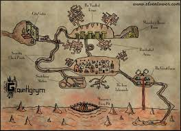 Dnd Maps Map 22 Gauntlgrym Forgotten Realm Elven Tower