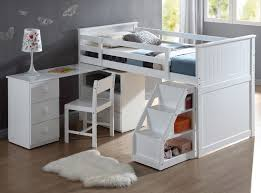 White Children S Desk by Kids U0027 Beds Kids U0027 Bunk Beds Sears