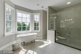 Bathroom Bay Window Contemporary Master Bathroom With Flush Light U0026 Master Bathroom In