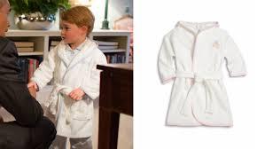 Toddler Terry Cloth Robe Prince George U0027s Bathrobe Look Alike Ideas Today Com