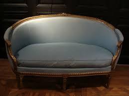 siege de style canapé corbeille en bois doré napoléon iii de style louis xvi