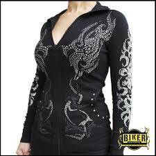 womens motorcycle apparel custom black cross long sleeve biker clothing women u0027s u0026 men u0027s