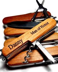groomsmen pocket knife personalized groomsmen gift pocket knife custom engraved rosewood