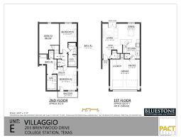 villaggio college station floor plans for you unit b floor