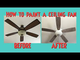 how to paint a ceiling fan ceiling fan makeover distressed chalk or latex paint no sanding