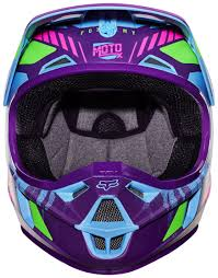 motocross helmets fox fox racing youth v1 vicious se helmet revzilla
