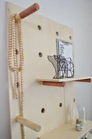 ply dowel jewellery rack this one is too cumbersome but there