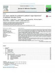 ls for seasonal affective disorder reviews activity monitoring in patients with depression a systematic review