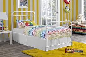 dhp furniture dhp brooklyn iron twin bed