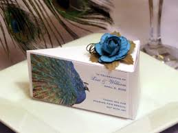 peacock favors lmk gifts personalized handmade unique favors invitations and