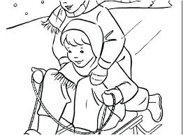 coloring pages about winter kids winter coloring pages yuga me