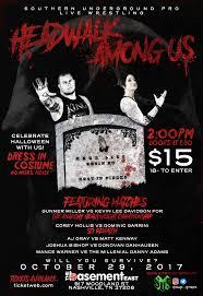 southern underground pro wrestling presents