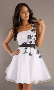 stunning collection about white dress with black lace
