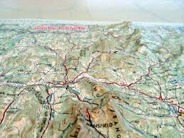 Death Valley Map Death Valley Raised Relief Map From Onlyglobes Com