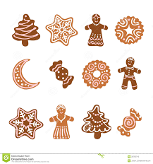 christmas ginger cookies christmas lights decoration