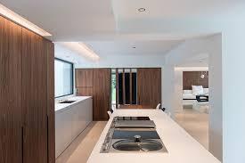 design interieur cuisine maison moderne design intérieur contemporain cuisine white et