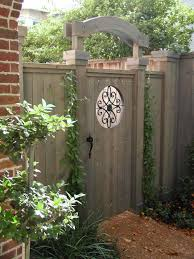 privacy fence gate ideas home u0026 gardens geek