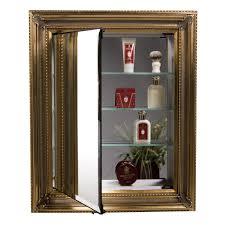 Decorative Framed Mirrors Decorative Framed Medicine Cabinet All Home Decorations