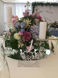 acrylic table numbers wedding clear acrylic wedding number wedding table decor flowers number