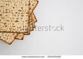 matzo unleavened bread matzah matzo unleavened bread pesach stock photo 1054293464