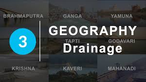 drainage chapter 3 geography ncert class 9 youtube