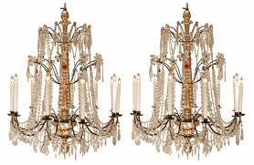 Italian Chandeliers A Pair Of Early 19th Century Italian Chandeliers 1800 To 1850