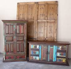 Tv Media Cabinets With Doors Mexican Doors Made Into Armoires And Tv Media Cabinets