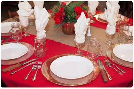Party Tables Linens - rustic holiday party seasonal party ideas encore events