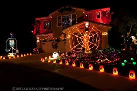 Battery Operated Outdoor Halloween Decorations by