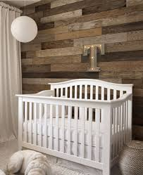 Rustic Nursery Decor Rustic Nursery Room Decor With Neutral Reclaimed Wood Wall Ideas