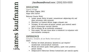 Resume Header Examples by Top Resume Templates Including Word Templates The Muse