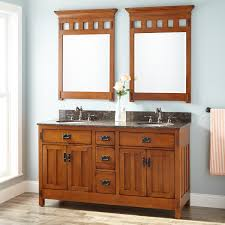 Oak Bathroom Cabinets by 60
