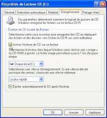 si e ordinateur pc astuces graver ses données sur cd