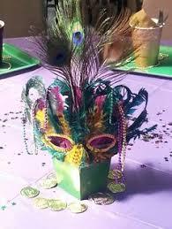 mardi gras table decorations mardi gras centerpieces nj party decorations event