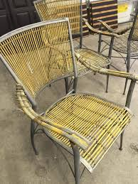 Patio Table And Chairs Set Wicker Patio Table And Chair Set