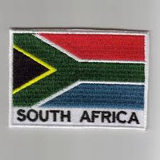 Aftican Flag Africa Embroidered Patches Country Flag South Africa Patches