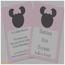 Minnie Mouse Baby Shower Invitations Templates - baby shower invitation fresh free mickey mouse baby shower