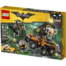 batman monster truck video lego batman movie bane toxic truck attack 70914 walmart com