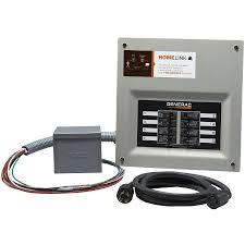shop generac homelink 11000 watt generator transfer switch kit at