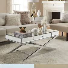 mirrored living room furniture mirrored furniture for less overstock com