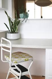 cosco step stool chair reupholster suburban pop