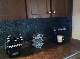 painted tin tile kitchen backsplash paintedlife2014 u0027s blog