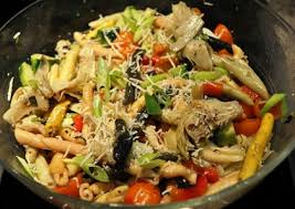 cold pasta dish cold pasta salad with fresh basi recipe whats cooking america