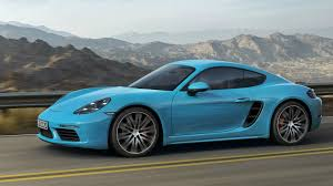 Interior Blue 2017 Porsche 718 Cayman S Miami Blue Exterior Interior And Drive