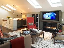 Elegant Sauder Entertainment Center In Family Room Transitional - Family room entertainment